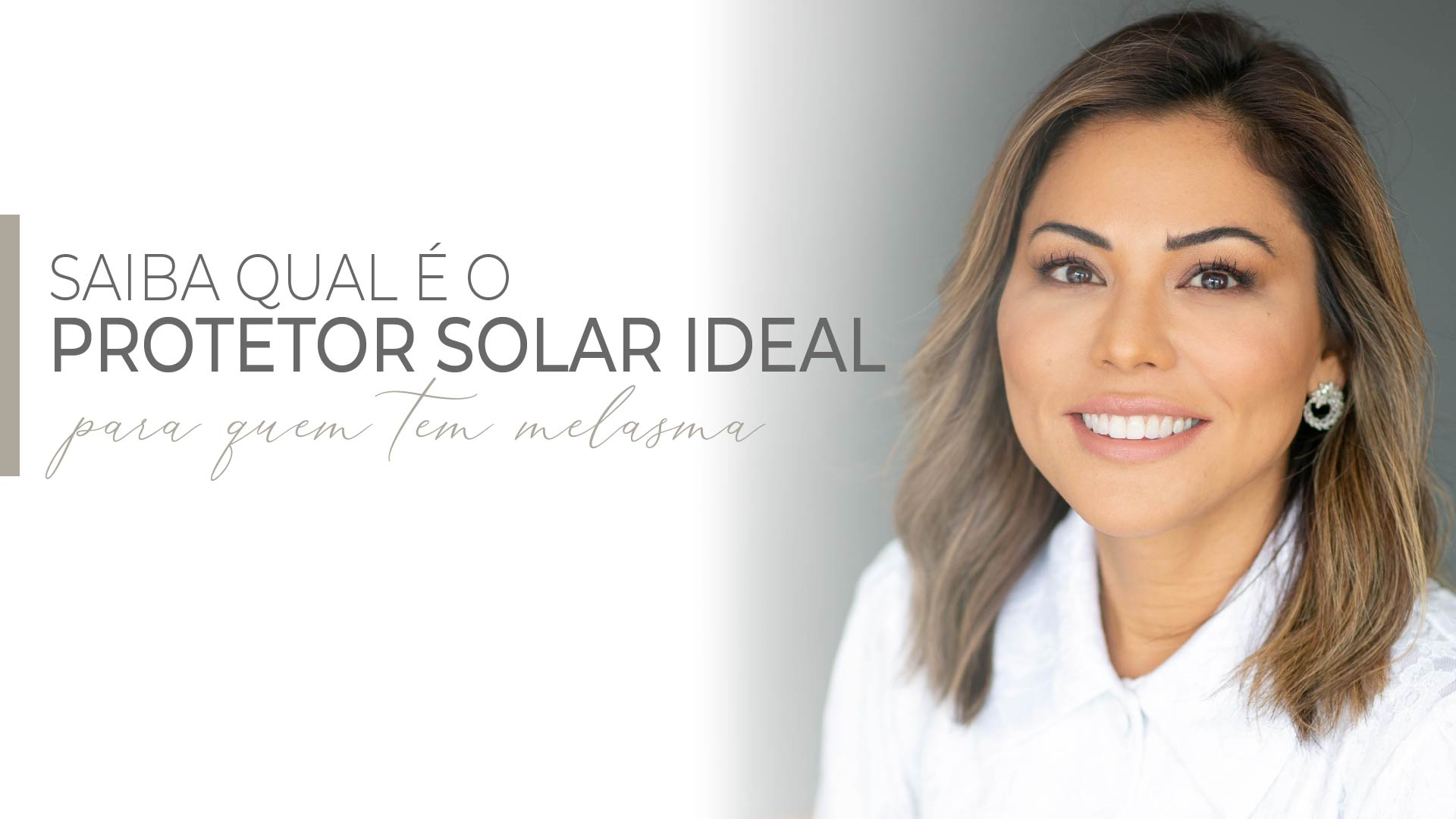 Read more about the article Protetor solar para quem tem melasma