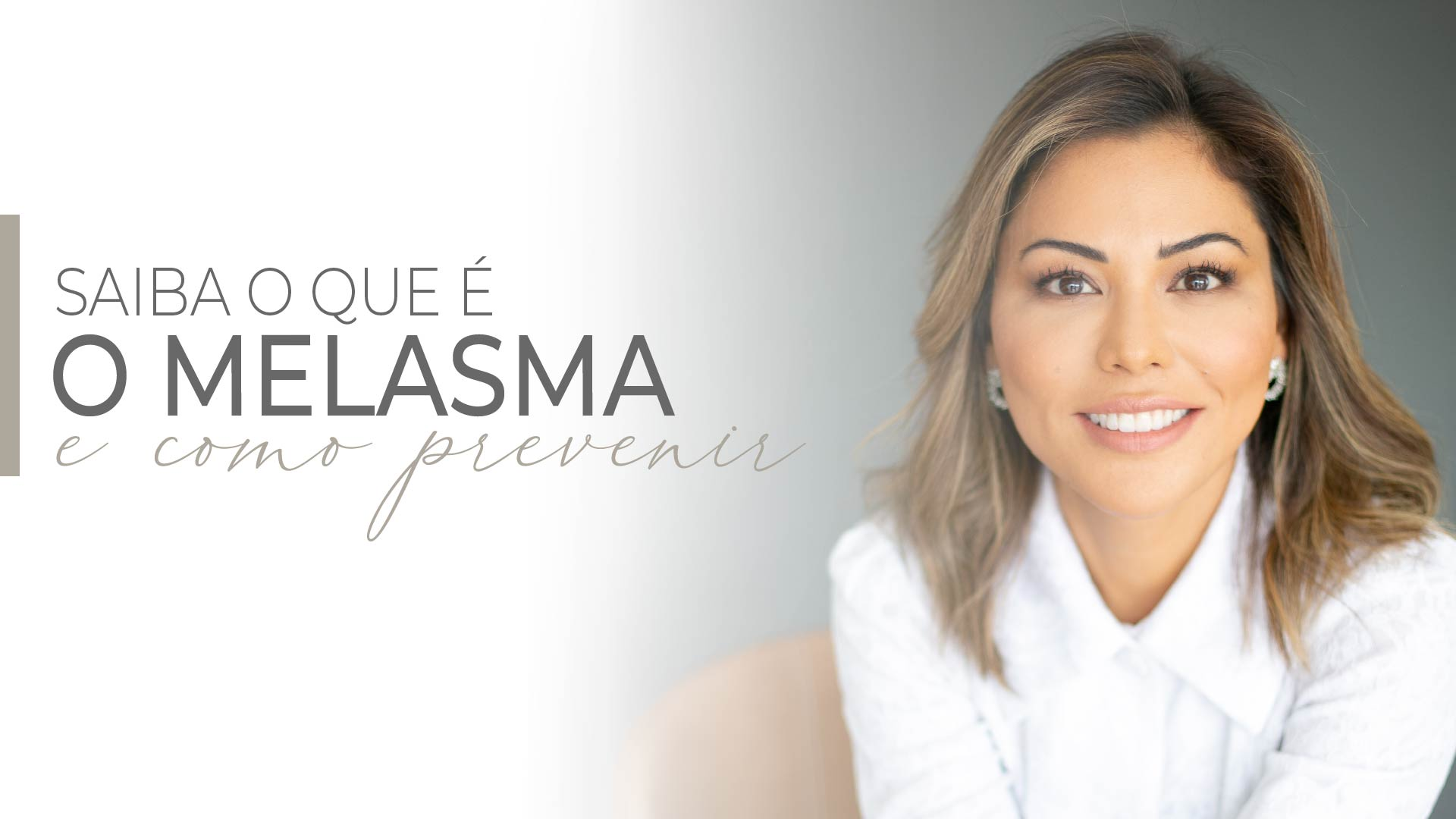 Read more about the article Melasma tem cura?